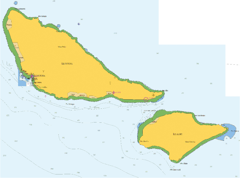 Wallis And Futuna Pacific The Great Southern Route Welcome - Wallis and futuna map